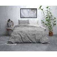 Sleeptime FL Twin Washed Cotton Grey Grijs 140 x 220