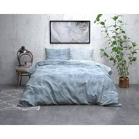 Sleeptime FL Twin Washed Cotton Blue Blauw 140 x 220