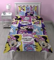 Minnie Mouse Dekbedovertrek Office New!