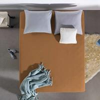 DreamHouse Bedding Hoeslaken Jersey 135 gr. [Extra Lang] Taupe Taupe 160 x 200/220