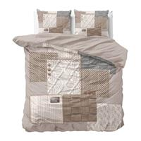 DreamHouse Bedding Stijlvolle dekbedovertekken Maat 140 x 200/220 cm - #5 Knitted home