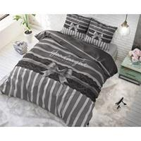 Sleeptime Dekbedovertrek Ribbon Silver-140x200/220