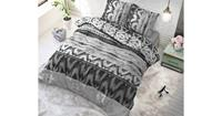 Sleeptime Dekbedovertrek Shibori Retro Antraciet-140x200/220