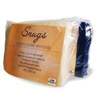 MikaMax Snuggie Snug Rug Original - Blauw