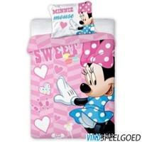 disney Minnie Mouse Dekbedovertrek Stars 100x135cm