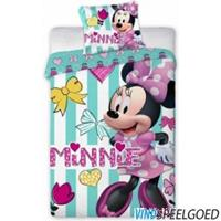 disney Minnie Mouse Ledikant Hearts: 100x135/40x60 Cm