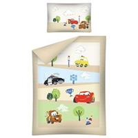 Disney Dekbed Cars and Friends Ledikant Beige