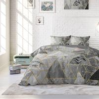Dreamhouse Luxury Triangle 1-persoons (140 x 220 cm + 1 kussensloop) Dekbedovertrek