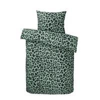 Essentials dekbedovertrek Renga - groen - 140x200 cm