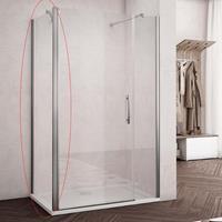 Lacus Nisdeur  Montecristo 90x190 cm 6 mm Nano Helder Glas
