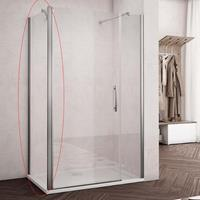 Lacus Nisdeur  Montecristo 115x190 cm 6 mm Nano Helder Glas