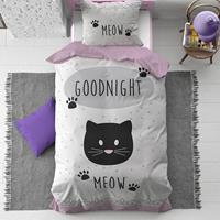 dreamhouse Goodnight Kitty dekbedovertrek - 1-persoons