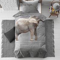 dreamhouse Kids Dekbedovertrek Goodnight Elephant