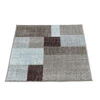 Leen Bakker Vloerkleed Casa Blok - blauw - 80x150 cm