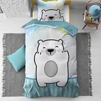 dreamhousebedding Dreamhouse 4 Kids Cuddle Bear Dekbedovertrek 140 x 200cm