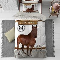 dreamhousebedding Horse Riding dekbedovertrek - 1-persoons