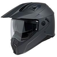 208 1.0, Dual Sport motorhelm, Mat zwart