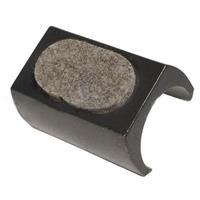 Luxe XL Vloerbeschermers Vloerdop Met Vilt Voor Zuiver Ridge Rib Stoel
