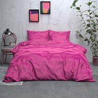 sleeptimeelegance Sleeptime Elegance Satijn Geweven Uni - Hot Pink 1-persoons (140 x 220 cm + 1 kussensloop) Dekbedovertrek