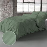 zensation Dallas - Groen 1-persoons (140 x 200/220 cm + 1 kussensloop) Dekbedovertrek