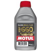 Remvloeistof DOT4 factory line racing 660, voor de moto, 500 ml