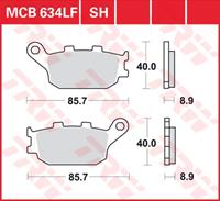 Standaard remblokken, en remschoenen voor de moto, MCB634