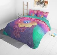 dreamhousebedding DreamHouse Bedding Talo - Multi 1-persoons (140 x 220 cm + 1 kussensloop) Dekbedovertrek
