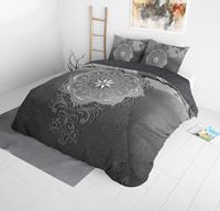 dreamhousebedding DreamHouse Bedding Talo - Grijs 1-persoons (140 x 220 cm + 1 kussensloop) Dekbedovertrek