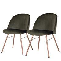 Gestoffeerde stoelen Ally I (set van 2),