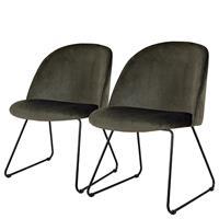 Home24 Gestoffeerde stoelen Ally II (set van 2),