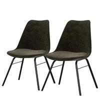 Home24 Gestoffeerde stoelen Gina I (set van 2),