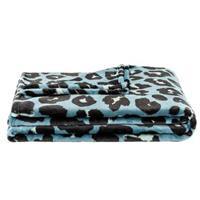 Leen Bakker Plaid Bowie Jaguar - groen - 150x200 cm