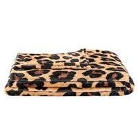 Leen Bakker Plaid Bowie Jaguar - cognac - 150x200 cm