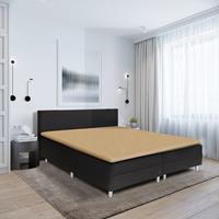 hotelhome Hotel Home Topper Hoeslaken Stretch - Basic Zand 90 x 200/210/220