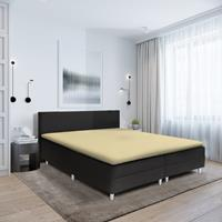 hotelhome Hotel Home Topper Hoeslaken Stretch - Basic Creme 90 x 200/210/220
