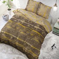 sleeptimeelegance Sleeptime Elegance Scratchy - Bruin 1-persoons (140 x 220 cm + 1 kussensloop) Dekbedovertrek