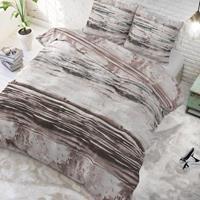 sleeptimeelegance Sleeptime Elegance Da Vinici - Zand 1-persoons (140 x 220 cm + 1 kussensloop) Dekbedovertrek