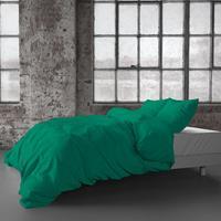 zensation Chester - Ultra Groen 2-persoons (200 x 220 cm + 2 kussenslopen) Dekbedovertrek