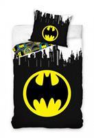 carbotex dekbedovertrek Batman 140 x 200 cm katoen zwart