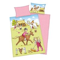 babybest Beddengoed Pony Farm GOTS 100x135 cm