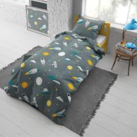 DreamHouse Bedding Moon and Space Dekbedovertrek