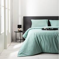 Fresh & Co Hotel Uni - Mint Lits-jumeaux (240 x 220 cm + 2 kussenslopen) Dekbedovertrek
