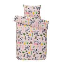 Comfort peuterdekbedovetrek Soof - roze - 120x150 cm