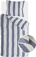 Swiss Sense Walra Remade Nautic Stripes Dekbedovertrek Dark Blue