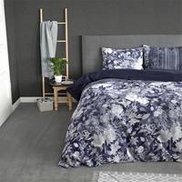 Sleeptime Elegance Sophia - Blauw 1-persoons (140 x 220 cm + 1 kussensloop) Dekbedovertrek