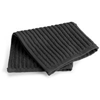 Vaatdoek - Zwart - Set van 6   - Katoen