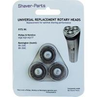 Shaver-Parts Universal Rasierkopf für Philips SH30, HQ8, HQ9, HQ177