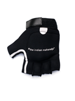 The Indian Maharadja Shell Glove Hockeyhandschoen Zwart