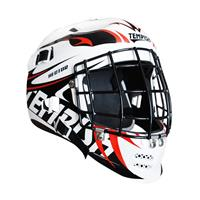 Tempish Hector Keeper masker senior wit/zwart/rood