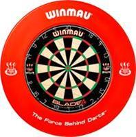 Winmau Dartbord catchring  rood